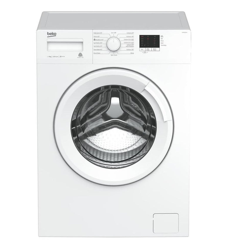 Beko 8kg Front Load Washing Machine WTB820E1W