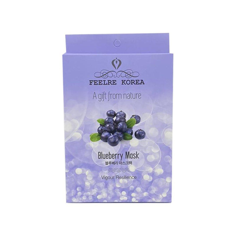 Feelre Korea Blueberry Mask Pack 5 pieces x 1 Box