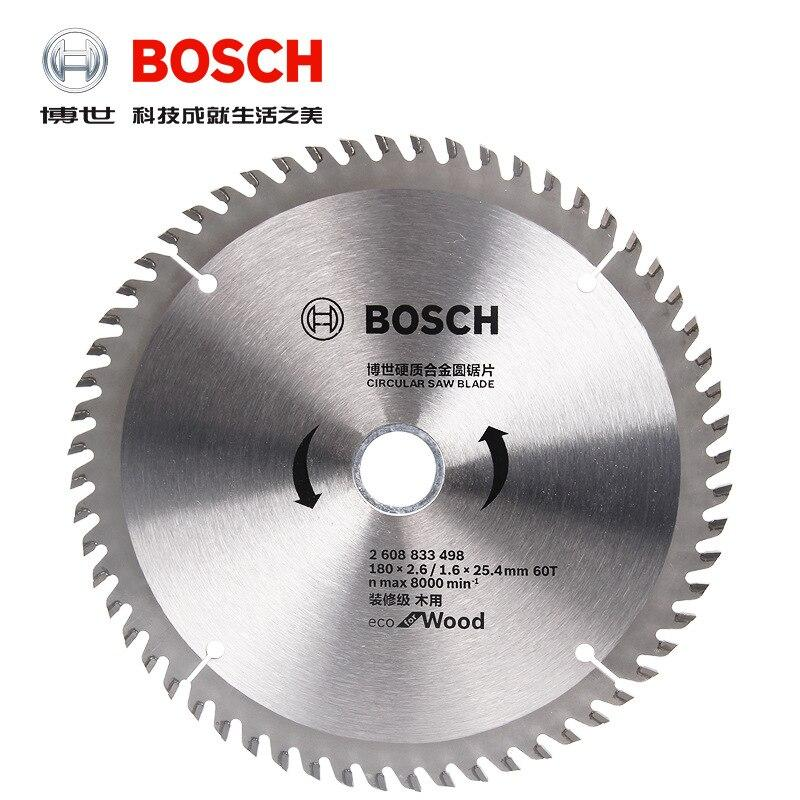Bosch Circular Saw Blade Eco for Wood180x2.6x25.4mm 60T