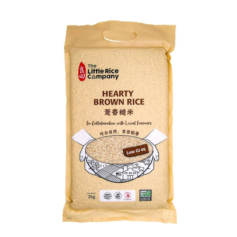 The Little Rice Company Hearty Brown Rice 2Kg