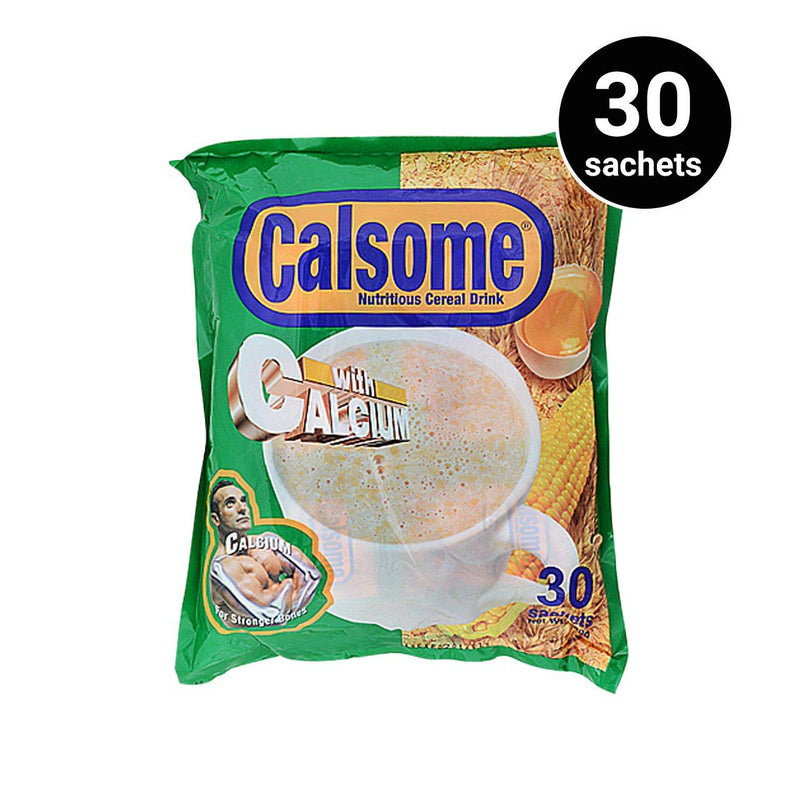 Calsome Nutritious Cereal Drinks 750G 30 Sachets