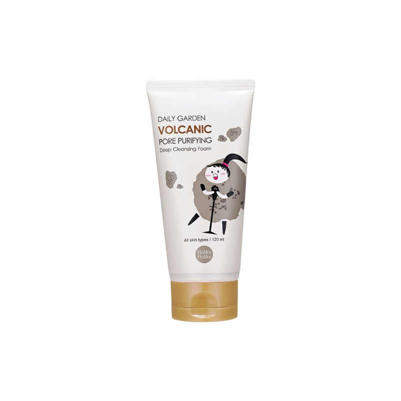 Daily Garden Volcanic Cleansing Foam 120ml