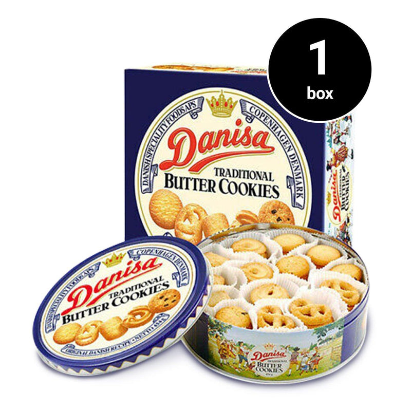 Danisa Traditional Butter Cookies (454g) (1 box) (4473272664182)