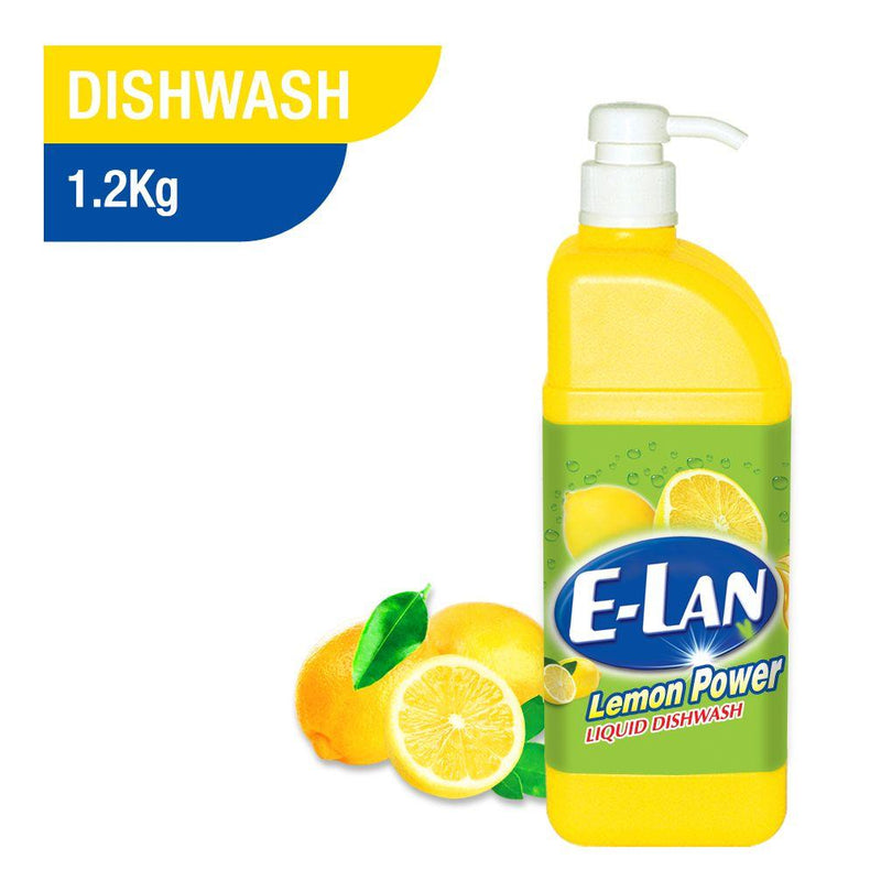 E-LAN Lemon Dishwashing Liquid 1.2Kg