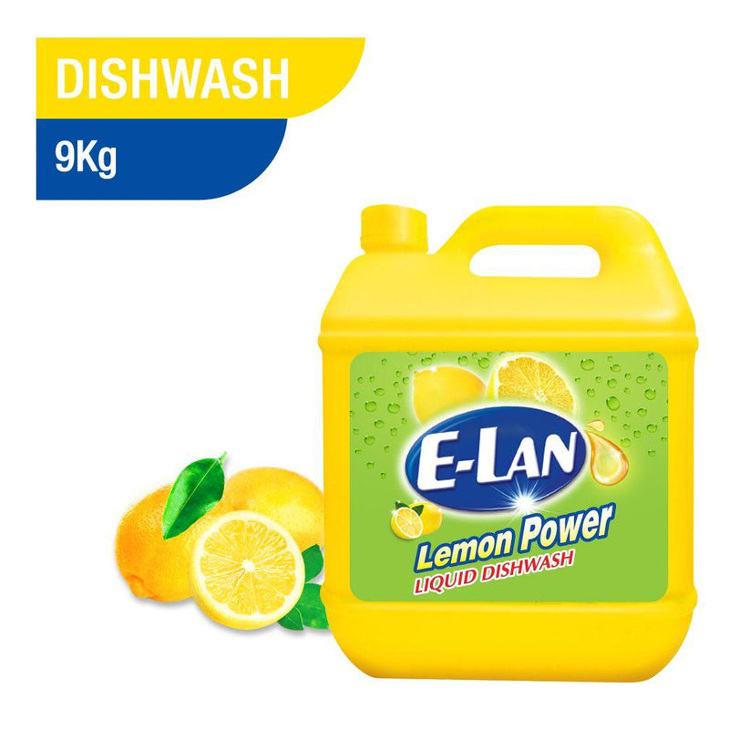 E Lan Dishwashing Liquid Lemon 9Kg