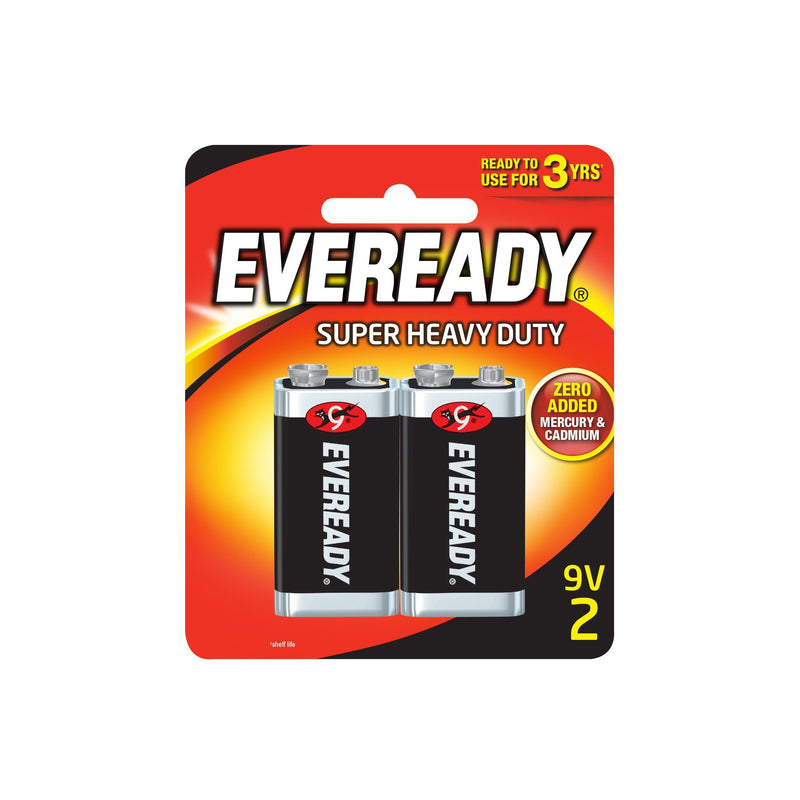Eveready Super Heavy Duty 9V BP2