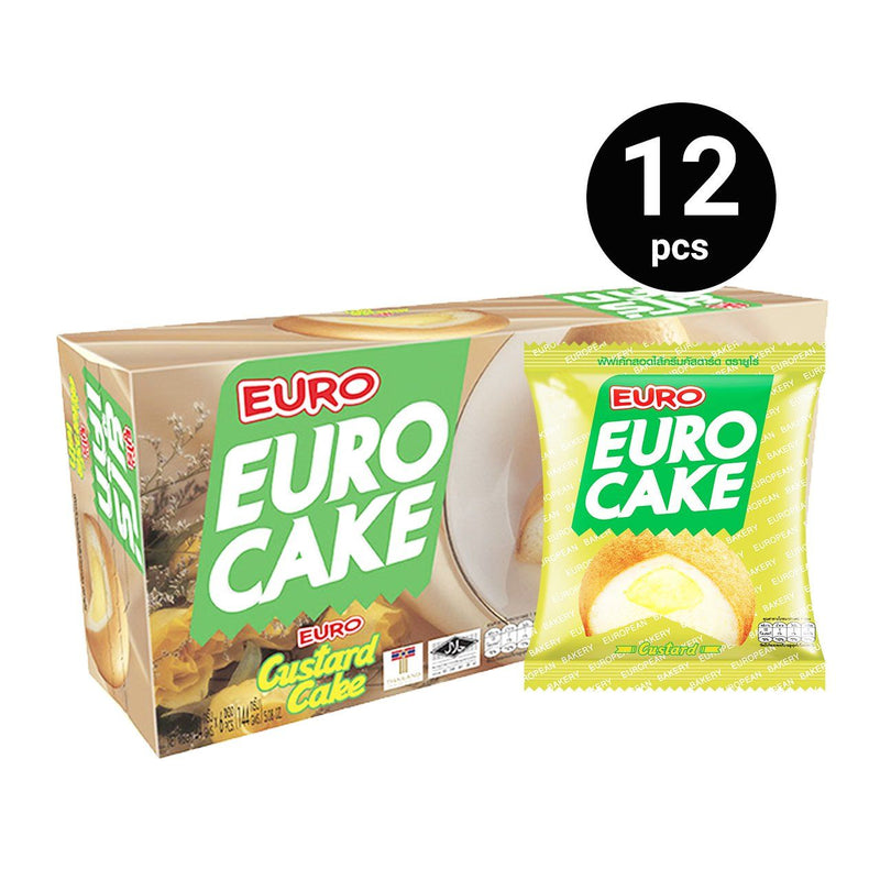 Euro Cake Custard (12 pieces x 1 pack)