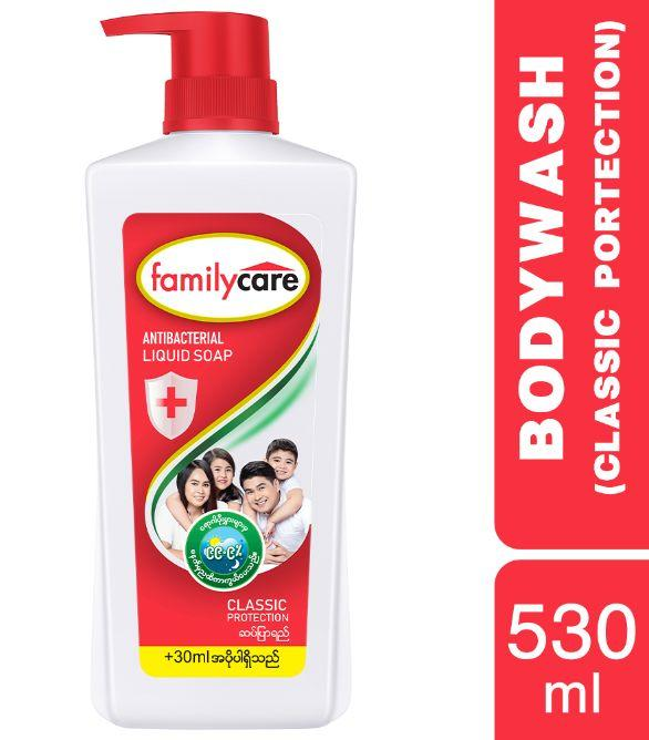 FAMILY CARE Red Classic Protection Body Wash 530ml