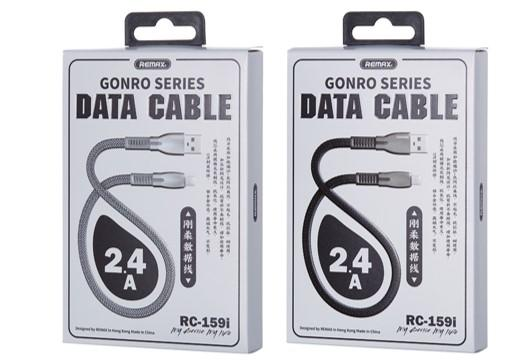 REMAX Gonro Series 2.4A Data Cable Lighting 01070274 (RC-159i) (4519660224630)