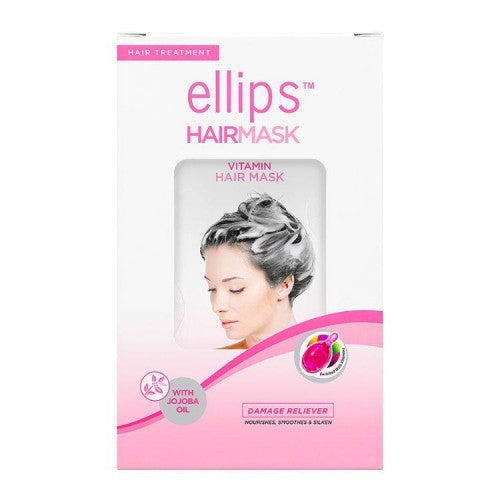 Ellips Hair Treatment For Damaged Hair Hair Mask 4 Sachets