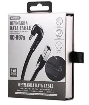 REMAX Heymanba Series 3.0A Data Cable RC-097 Type C 01070255 (RC-097a) (4519676117110)