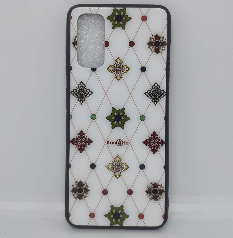 Samsung S20 Case (Shwe Kyar Pwint Hwlar, Tempered Glass Cover)