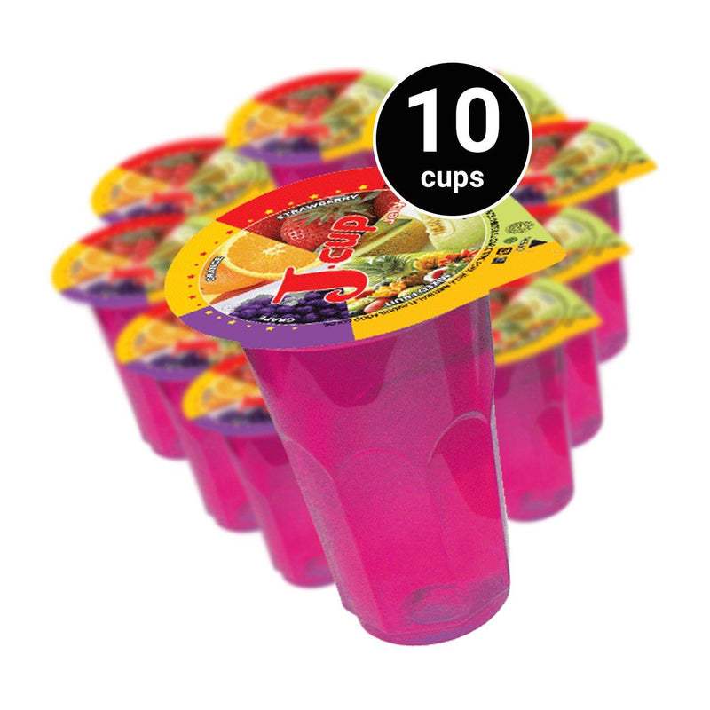 J Cup Grape Jelly 10 Cups