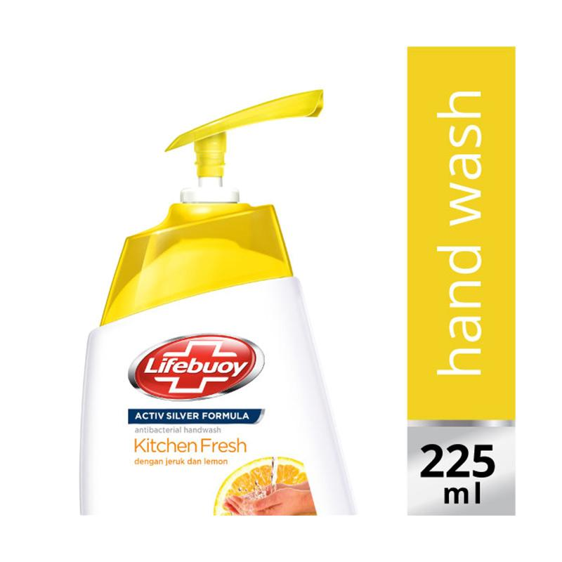 LIFEBUOY Hand Wash Kitchen Fresh Pump 225ml
