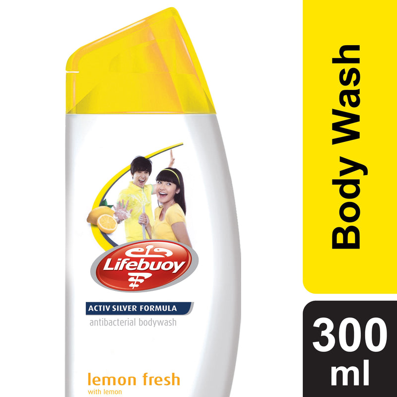 LIFEBUOY Lemon Fresh Body Wash POT 300ml