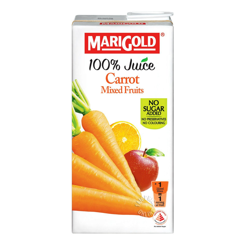 Marigold 100 Carrot Mixed Fruits Juice
