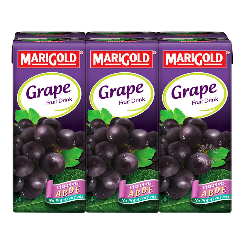 Marigold Grape Fruit Drink (250ml) (Pack of 6)