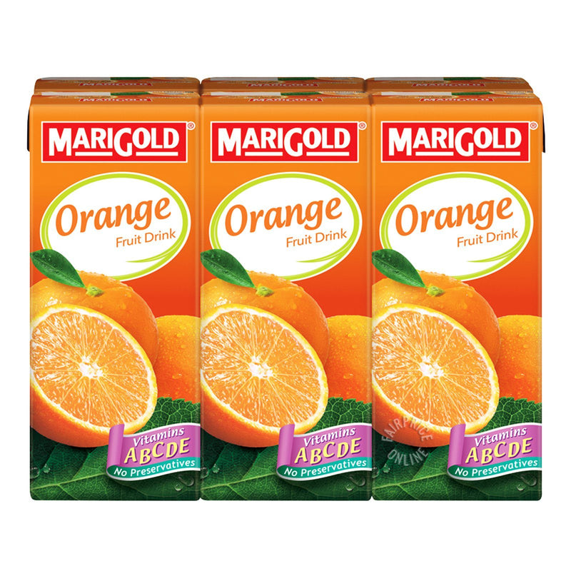 Marigold Orange Fruit Drink (250ml) (Pack of 6)