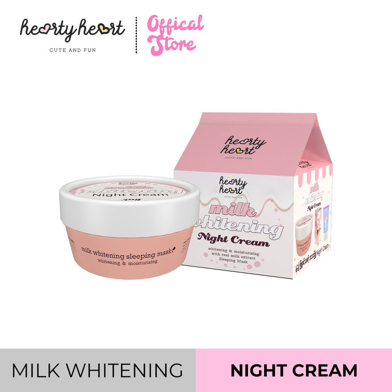 Hearty Heart Milk Night Cream 30g