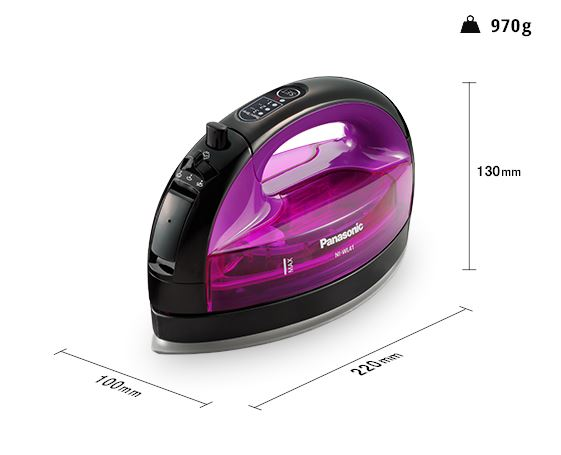 Panasonic Iron (Cordless Steam) NI-WL41VSG