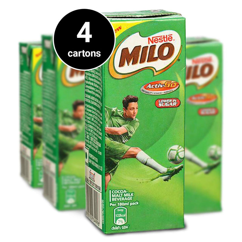 Nestle Milo Chocolate Drink (180ml) (4 cartons) (4485065474166)