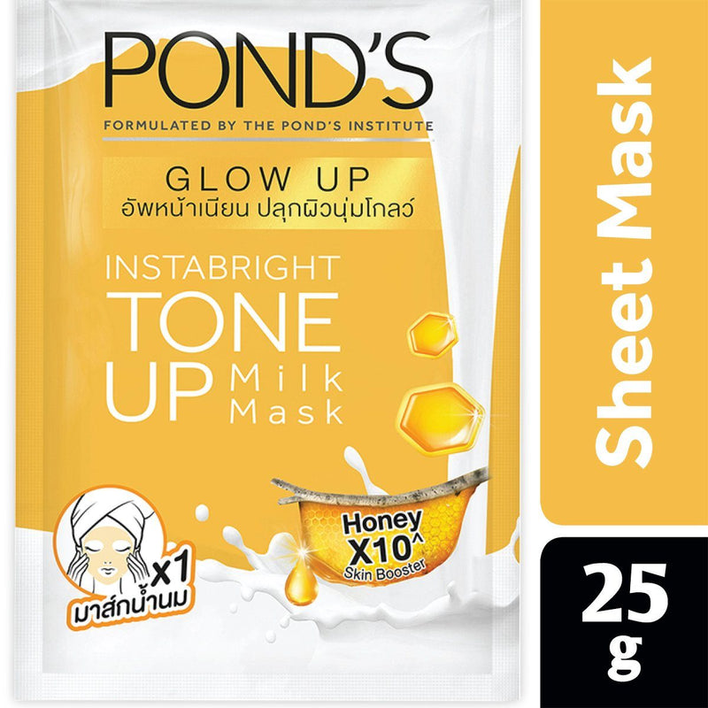 POND's Instabright Tone Up Milk Mask Honey 25g
