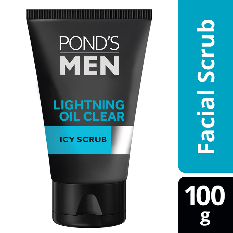 Pond's Men Lighting Oil Clear Facial Foam 100g
