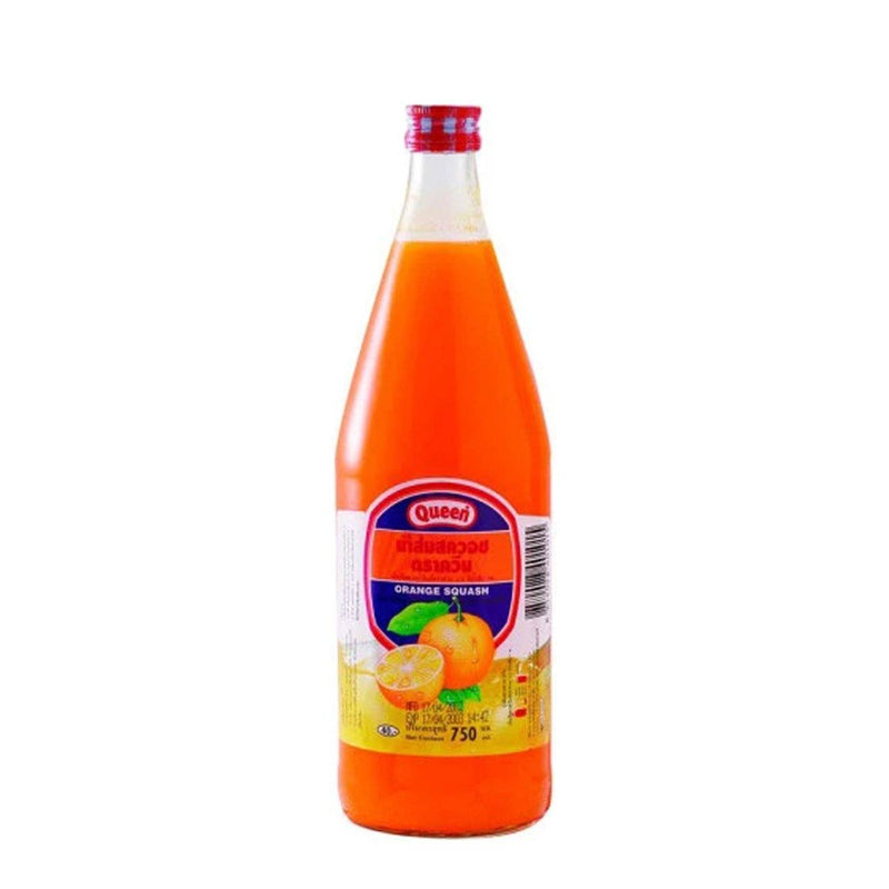 Queen Orange Squash 750ml 1 bottle