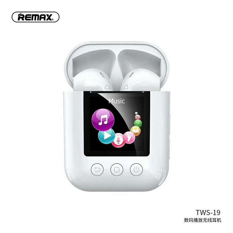 Remax Digital Player Wireless Headphone TWS-19