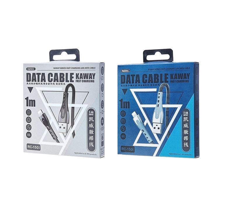 Remax Kayway Series 2.4A Data Cable RC-150 Lightning