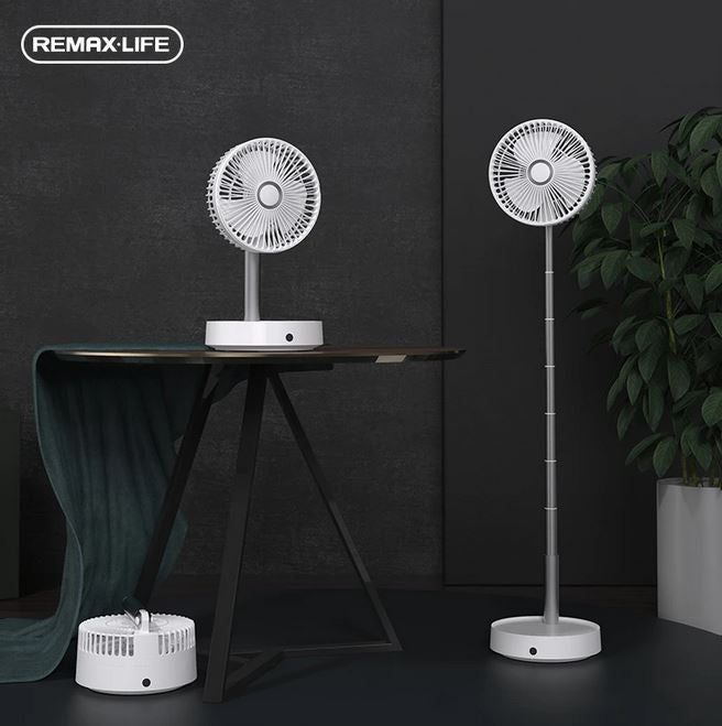 Remax Life Portable & Foldable Oscillating Fan with Remote Control Pro RL-FN31
