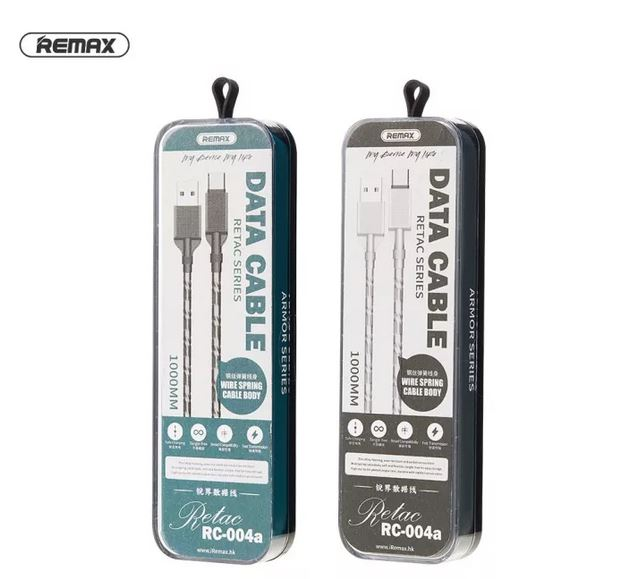 Remax Retac Series 2.4A Data Cable RC-004 Lightning