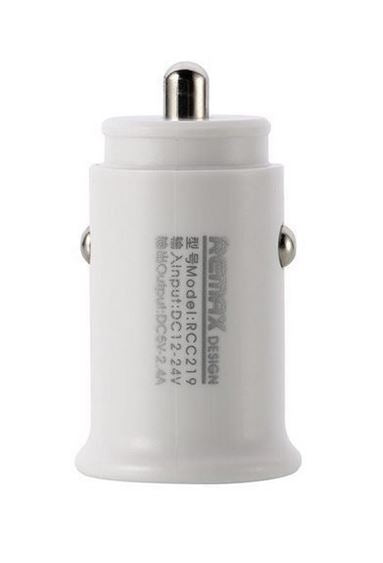 Remax Roki Series 2USB 2.4A Car Charger RCC219