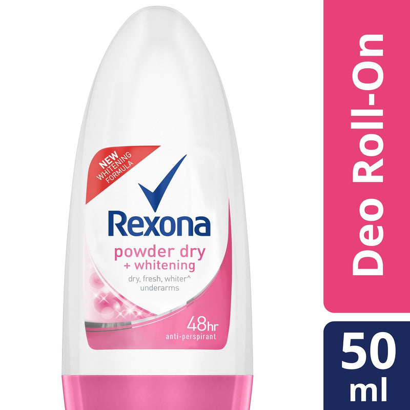 Rexona Women Whitening Powder Dry Roll On 50ml