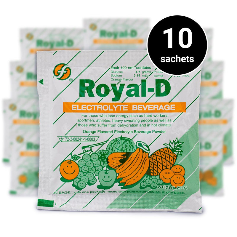 Royal-D Electrolyte Beverage (25g) (1 pc) (Pack of 10) (4473336037494)
