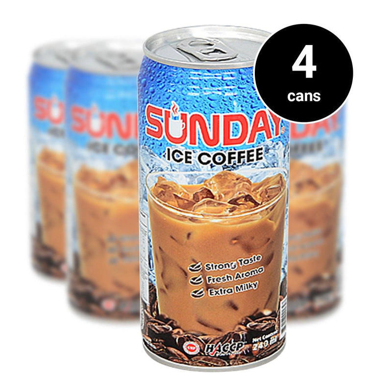 Sunday Ice coffee (240ml) (4 cans) (4485059084406)