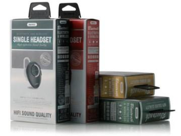 REMAX HIFI Sound Quality Single Headset RB-T22 (4518660669558)