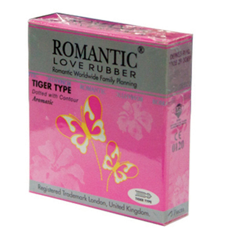 Romantic Tiger Type Condom (3 pieces)