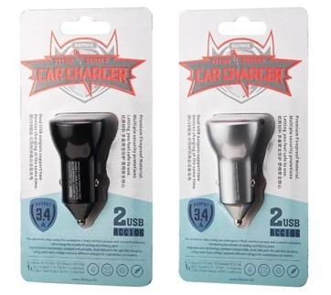 REMAX Vitor Series 2USB 3.4A Car Charger RCC106 (4519413481590)