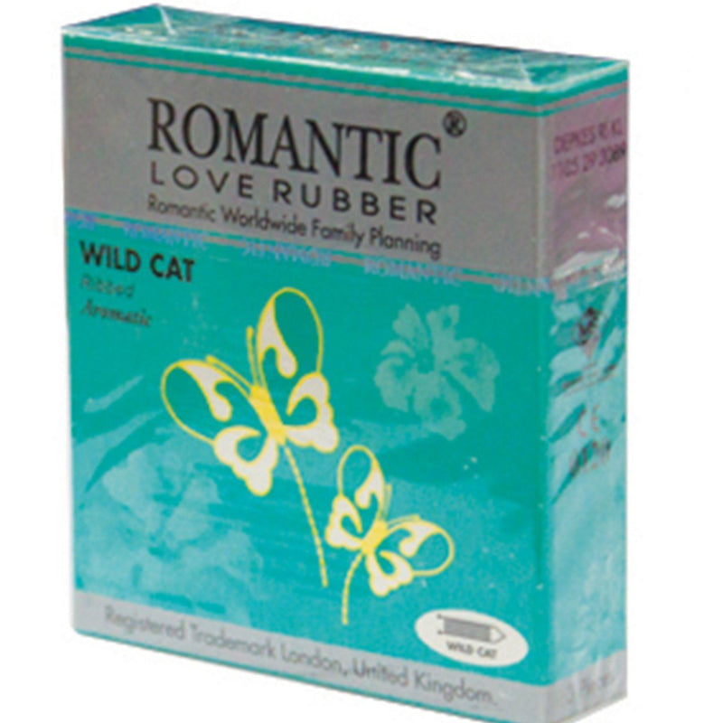 Romantic Wild Cat Condom (3 pieces)