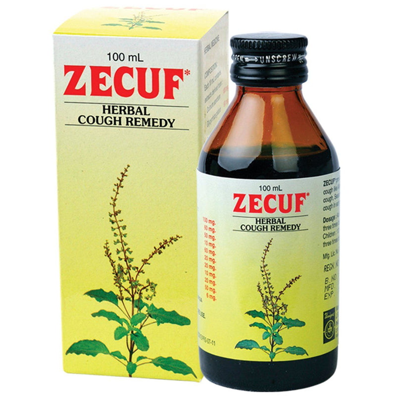 Zecuf Herbal Cough Syrup 100 ml