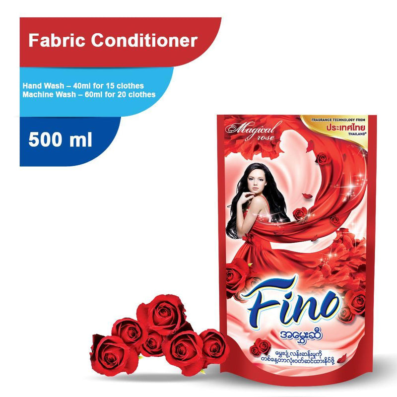 FINO Fabric Conditioner Magical Rose (Red) 500ml