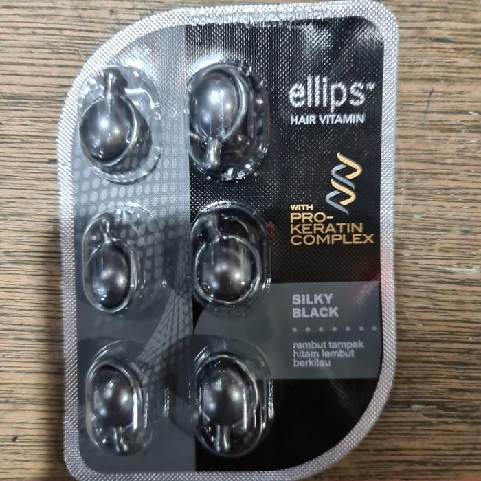 Ellips Silky Black Black And Soft Shiny Hair Looks 6 Capsule Card