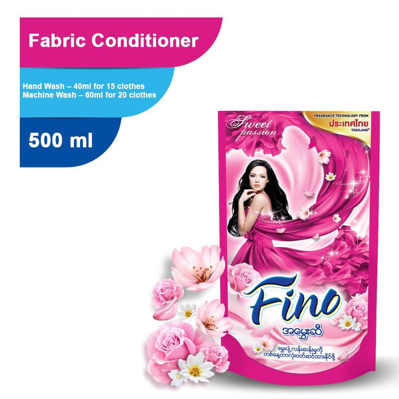 FINO Fabric Conditioner Sweet Passion (Pink) 500ml