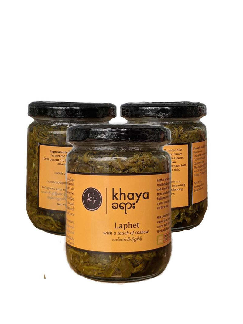 Khaya Laphet With A Touch Of Cashew