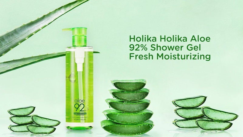 Aloe Shower Gel 92% 390ml