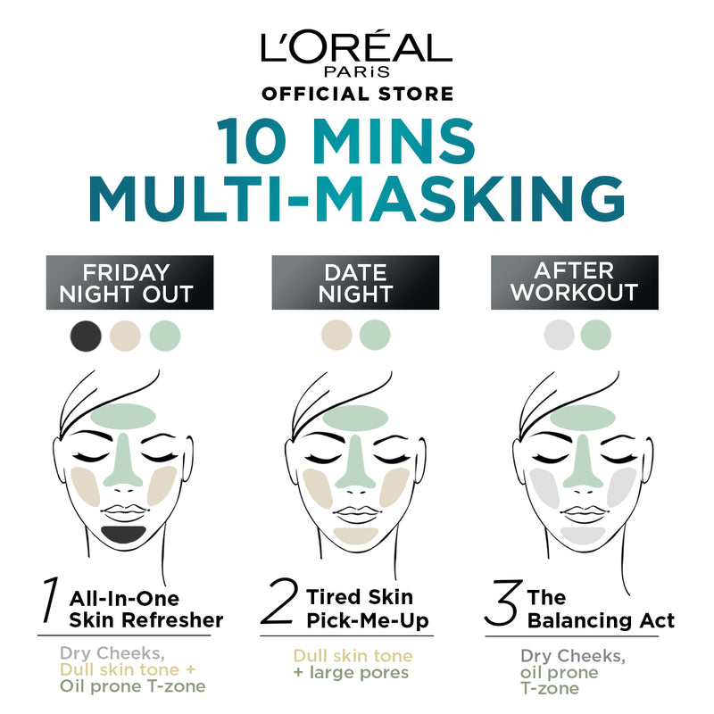 L'Oréal Pure Clay Mask Hydration 50g