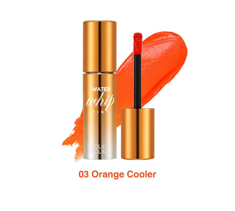Holika Holika Water Whip Tint Lipstick 03 Orange Cooler