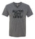 ACL Adult Black V neck on Grey Shirt