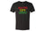 ACL Adult Rasta Vint. Black Shirt